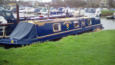 45 narrowboat electric/diesel hybrid