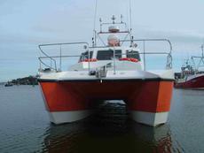 Wildcat 10.7m Catamaran P5 licensed Charter Boat