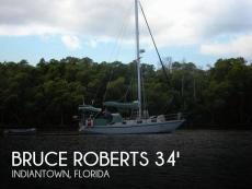 2000 Bruce Roberts 34 Sloop