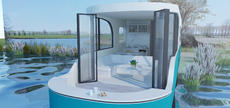 New Floating Homes - Tiny Blue
