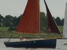 Lavishly restored Cornish Shrimper 19