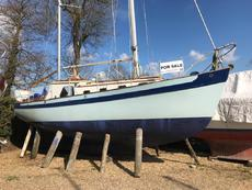 28ft Peter Duck, Wooden Bermudian Ketch