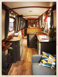 Beautiful 57ft narrowboat with central London mooring