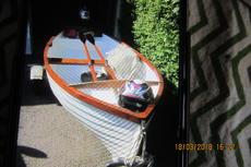 Open day boat / fishing / tender,10.6 x 4.6 feet