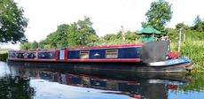 Narrowboat 70ft Trad with Residential Mooring