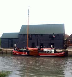 Newly Restored Tjalk, Dutch Sailing Barge. Perfect live-aboard tourer
