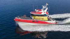 Dive, support, survey vessel Tanum.