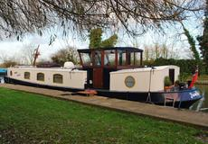 57'x10' Dutch Barge - PRICE REDUCED FROM £99950
