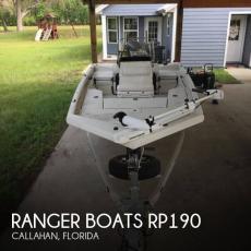 2016 Ranger Boats RP190