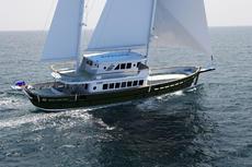 AvA Yachts 27m Ice Class Motorsailer Svetlana