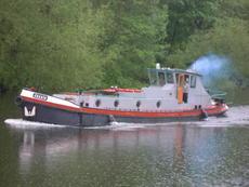 1922 Converted Dutch Bunker Barge