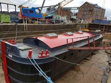 75ft Humber Barge - just been completely rebottomed