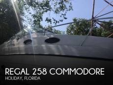 1996 Regal 258 commodore