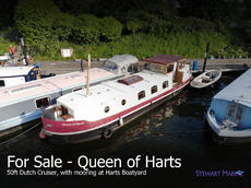 50ft Dutch Barge - With Mooring in Surbiton