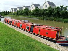 70ft trad narrowboat (CTS Dennis Cooper)