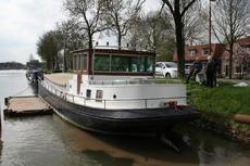 lovely motorship excellent living travel barge