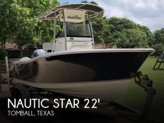 2009 Nautic Star 2200 Offshore