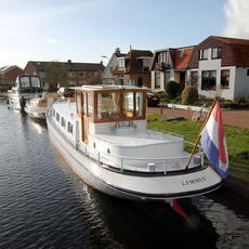 Nice well maintained motorship, spacious and fast sailing