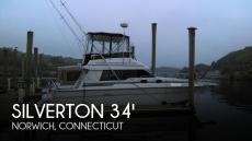 1989 Silverton 34 Convertible