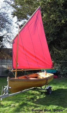 BarrowBoat wooden sailing dinghy