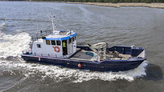 Aluminium workboat Arne, 20 knots