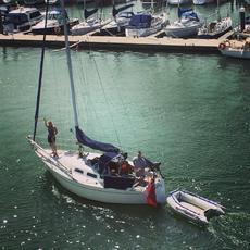 Contessa 28 Masthead Sloop - 13.5HP Beta Marine Inboard Diesel
