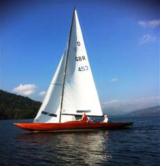 29ft INTERNATIONAL DRAGON CLASS RACER - No. 453