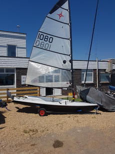 Supernova Mk2 Epoxy sail number 1080