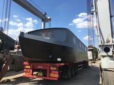 Wide beam 60ft x 12ft 52hp Basic Sail Away