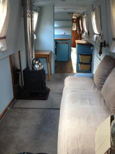 Houseboat narrowboat to Rent West London