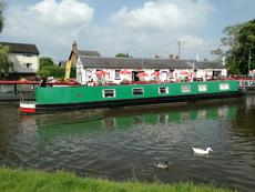 Quillan - 70 foot semi-traditional stern narrowboat ***JUST ARRIVED***