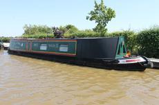 Freda B, 50ft Traditional style narrowboat, 1989, £22,950.