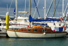 25ft YACHTING WORLD FIVE-TONNER CLASS SLOOP