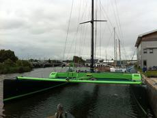 racing charter catamaran