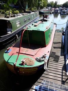 30ft Narrow boat