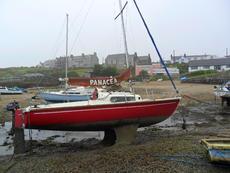 Pandora 22ft bilge keel yacht