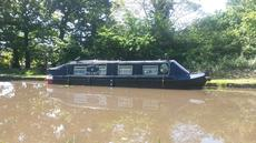 38ft Liverpool Cruiser Stern Narrowboat