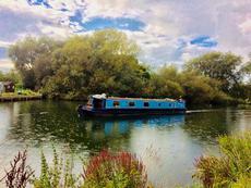 60' Semi Trad Narrowboat with Mooring