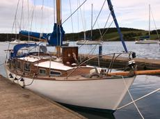 28ft STEWART BERMUDIAN SLOOP, built 1969