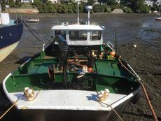 10 metre steel work boat