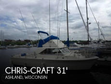 1972 Chris-Craft Commander 31