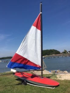 Topper at advertised price (Topper 4.2 Training Sail sold separately)