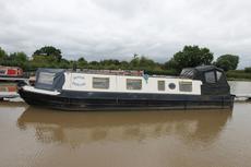Maesie Duncan, 38ft Cruiser stern narrowboat, 1979, £18,950.
