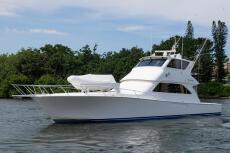 2005 Viking 61 Enclosed Bridge