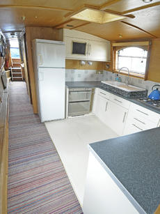 SAPPHIRE IN STEEL 55ft 0in x 10ft 6in wide beam cruiser