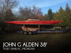 1948 John G Alden 38 US ONE-DESIGN