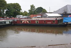 Classie Lassie - 45 foot cruiser stern narrowboat