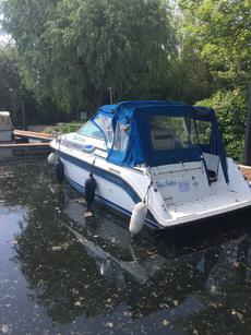 Great Opportunity to own 'Blue Satin' 1989 27 ft Carver Montego