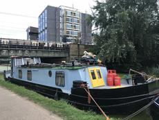 60ft Dutch Barge, Canal or Sea Houseboat PRICE REDUCED