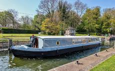 June build slot for widebeam sailaway nr London